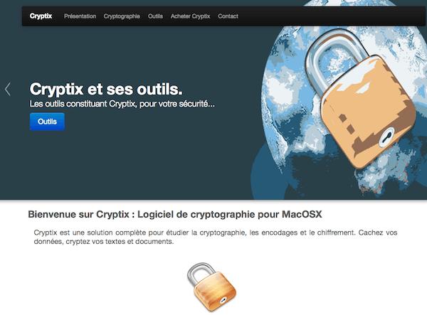 Página web Cryptix